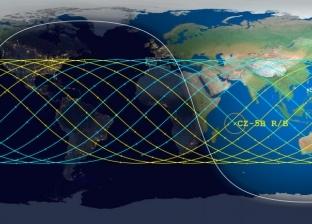 خريطة محتملة لمسار سقوط الصاروخ الصيني الخارج عن السيطرة