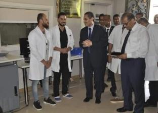 افتتاح أول وحدة للسكتة الدماغية في إقليم القناة