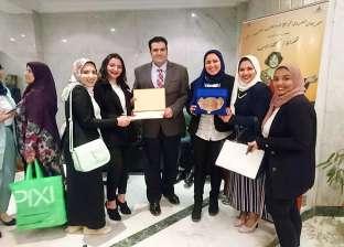"""""""إعلام الإسكندرية"""" يحصد المركز الثالث بمهرجان الشروق لإبداعات الطلاب"""