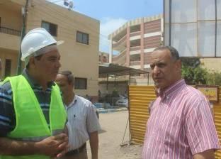 تنفيذ 30% من مشروع الصرف الصحي بقرية أبو مندور في دسوق