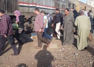 """الموت يطارد أهالي """"الزهراء والرجبي"""" بسبب محطة قطار غزل المحلة"""
