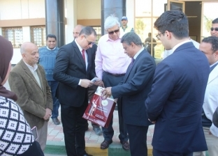 بالصور  سفير باراجواي يزور قناطر أسيوط الجديدة