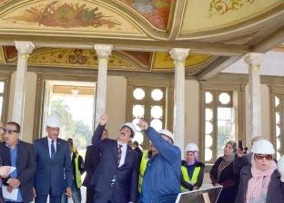 محافظ القليوبية يتفقد أعمال ترميم قصر محمد علي بشبرا الخيمة