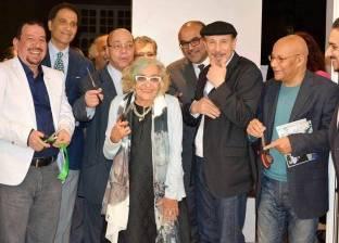 """وزير الثقافة الأسبق يفتتح معرضين فنيين في جاليري """"ضي"""""""