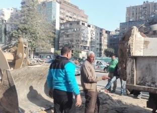 """رئيس حي العجوزة: إزالة ساعة """"جامعة الدول"""" لبدء أعمال مترو الأنفاق"""