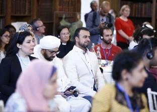 """مصطفى حسني: سعيد بمشاركتي في منتدى """"شباب صناع السلام"""""""