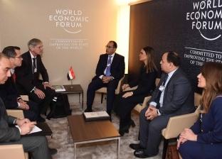"""الرئيس السويسري يشيد بالإصلاح الاقتصادي في مصر على هامش """"دافوس"""""""
