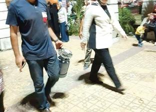 بعد انفجار أسطوانة غاز.. حملة مكبرة للتفتيش على الباعة الجائلين بالإسكندرية