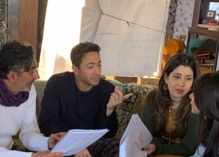 """حمادة هلال وايتن عامر يستكملان تصوير """"أبن أصول"""""""