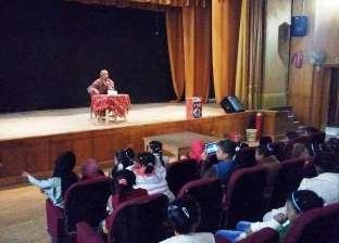 """""""ثقافة القاهرة"""" يحتفل بعيد الأضحى برسم على وجوه الأطفال"""
