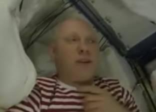 بالفيديو| رائد فضاء يعرض أطول مسار داخل المحطة الفضائية الدولية