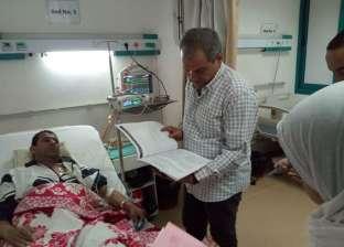 وكيل صحة البحر الأحمر يجري زيارة مفاجئة لمستشفى الغردقة