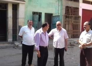 """رئيس """"سمنود"""" يوجه بتدشين حملات نظافة وإنارة لقرى محلة زياد ومنشأة نظيف"""