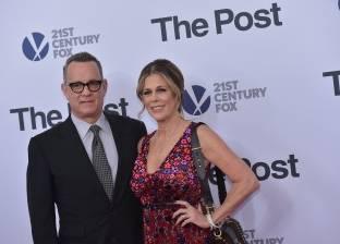 "بالصور  توم هانكس وميريل ستريب يحضران عرض فيلمهما ""The Post"""