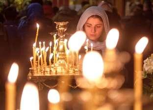 بالصور| بالرغم من برودة الطقس.. الروس يحتفلون بعيد الغطاس