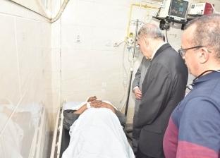 مصرع سيدة وإصابة 10 في انقلاب سيارة على طريق أسيوط الصحراوي الشرقي