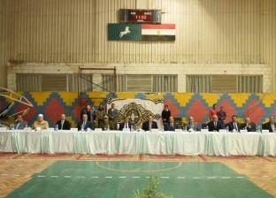 محافظ الشرقية يشهد مراسم إجراء قرعة الحج بالصالة المغطاة في الزقازيق