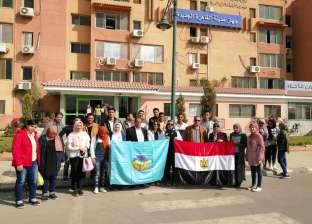 محطة معالجة القاهرة الجديدة للصرف الصحي تستقبل  طلاب جامعة طنطا