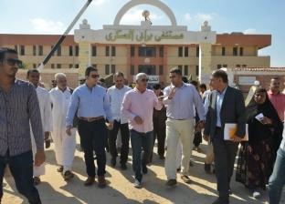 محافظ مطروح يتفقد بعض المشروعات الخدمية بمدينة سيدي براني