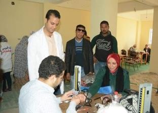 جامعة الإسكندرية تجري فحوصات طبية لـ980 مواطنا بقرية بهيج