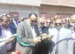 افتتاح مدرستين جديدتين أنشأتهما مصر الخير والبنك الأهلي في المنيا