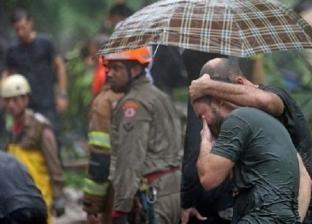 """أمطار قويةتضرب """"ريو دي جانيرو"""" بالبرازيل ومصرع 6 أشخاص"""