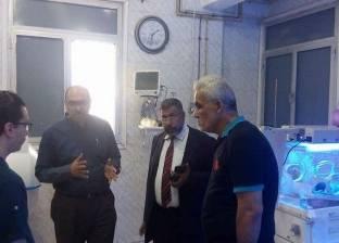 مدير الرعاية الحرجة بالشرقية يتفقد 3 مستشفيات لمتابعة سير العمل