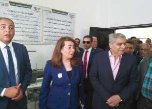 وزيرة التضامن ومحافظ المنيا يفتتحان مركز العزيمة لعلاج الإدمان