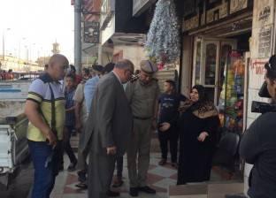 مدير أمن القليوبية يقود حملة مكبرة لتحرير أرصفة بنها من الإشغالات