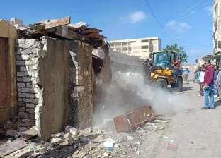 """إزالة حالتين تعد على """"أراض الدولة"""".. و115 إشغال بمدينة نصر النوبة"""