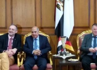 """وفد ألماني يصل جامعة كفر الشيخ للمشاركة في مؤتمر"""" الأمن والسلامة"""""""