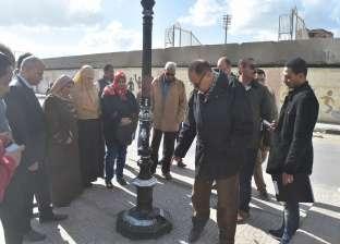محافظ الفيوم يوجه رئيس المدينة بإنجاز أعمال الرصف في مواعيدها
