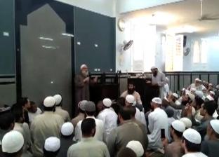 وكيل وزارة الأوقاف يخطب خطبة الجمعة بدلا من رسلان