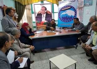 """""""مستقبل وطن"""" يسدد المصروفات الدراسية عن الطلاب غير القادرين في أبوحماد"""