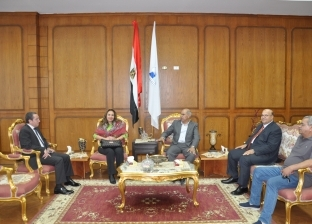 """وفد تقييم """"أفضل جامعة مصرية"""" يزور جامعة كفر الشيخ"""