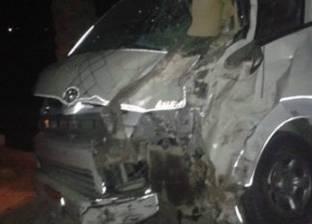 إصابة 7 أشخاص إثر إنقلاب سيارة ميكروباص بكفر الشيخ