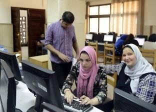 مكتب تنسيق جامعة القناة ينهي استقبال طلاب الدبلومات الفنية اليوم