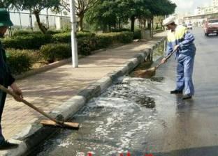 """""""صرف الإسكندرية"""": تساقط الأمطار لم يكن متوقعا"""
