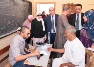 """الكشف على 1700 مواطن بقافلة جامعة طنطا الطبية بقرية """"سجين الكوم"""""""