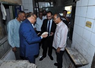 نائب محافظ الإسكندرية يتفقد المخابز ويحرر 4 محاضر للمخالفين