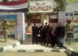 """""""تعليم السويس"""": القوات المسلحة تسلمت المدارس المقررة كلجان انتخابية"""