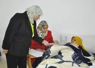 لجنة خاصة لطالبة حضرت الامتحان رغم إجرائها عملية جراحية بجامعة القناة