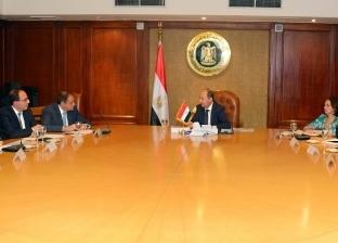 """وزير الصناعة يبحث مع وفد """"التمويل الدولية"""" تنفيذ برامج تنموية"""