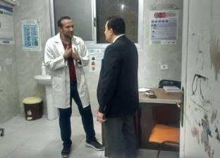 """وكيل """"صحة السويس"""" يفاجئ مستشفى الحميات للوقوف على سير العمل"""