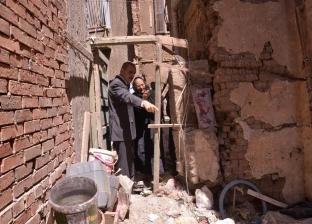 هبوط أرضي بـ3 منازل يكشف جريمة التنقيب عن الآثار في أسيوط