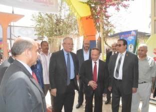 """محافظ المنيا يعلن تنفيذ مشروع """"إعادة تدوير مياه الصرف"""""""