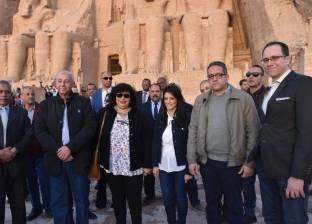 وزير الآثار: احتفالية قادمة لمرور 50 عامًا على نقل معبد رمسيس الثاني