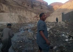 نائب رئيس «أبنوب»: شفط مياه السيول.. والأهالي رفضوا مساكن «الإيواء»