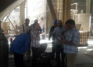 بالصور| جهاز شؤون البيئة يتفقد محطة أسيوط البخارية بسبب «سحابة سوداء»