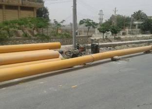 محافظ الشرقية: استمرار أعمال الحفر لتوصيل الغاز بمركز فاقوس